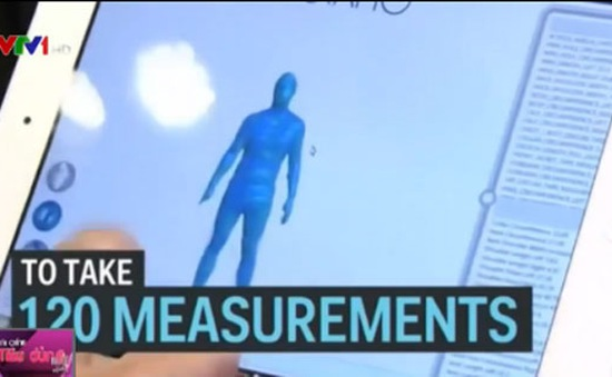 Robot đo quần áo chỉ trong… 10 giây