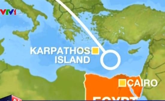 Phát hiện tín hiệu nghi từ hộp đen máy bay mất tích của Egypt Air