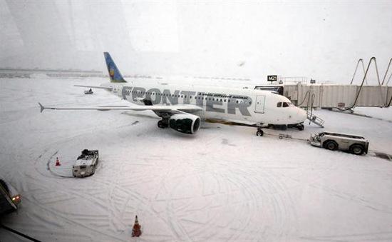 Nga: Hàng trăm chuyến bay bị hủy và hoãn do thời tiết xấu