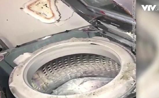 Sau Note7, đến lượt máy giặt của Samsung có nguy cơ cháy nổ
