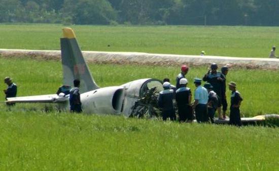 Máy bay huấn luyện L39 gặp nạn do hỏng động cơ