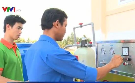 Lắp đặt máy lọc nước mặn ở 6 tỉnh miền Tây