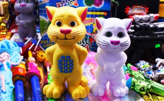 Khánh Hòa khuyến cáo đồ chơi độc hại