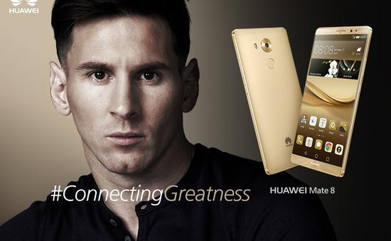 Messi là đại sứ thương hiệu Huawei toàn cầu