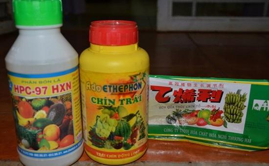 Tác hại đến sức khoẻ do sử dụng tuỳ tiện thuốc thúc chín trái cây