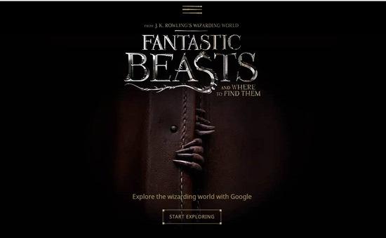 Trải nghiệm thần chú của Harry Potter trên công cụ tìm kiếm của Google