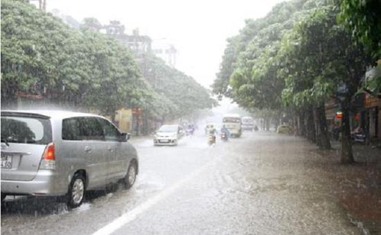 Cảnh báo mưa lớn diện rộng ở Bắc Bộ và Bắc Trung Bộ