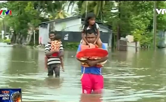 Sri Lanka: 200.000 người phải sơ tán do mưa lớn