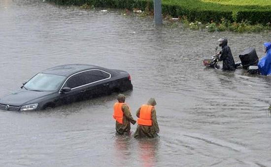Hơn 40 người thiệt mạng vì mưa bão tại Trung Quốc
