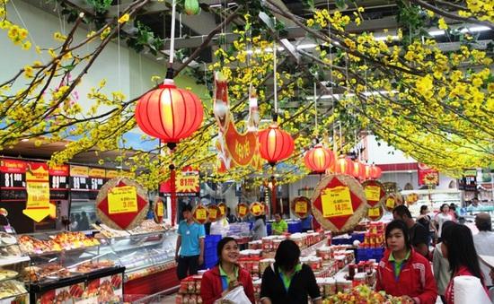 Cận Tết, nhu cầu mua sắm của người dân tăng mạnh