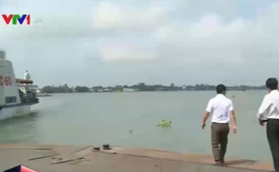 Mực nước vùng đầu nguồn sông Cửu Long đang tăng