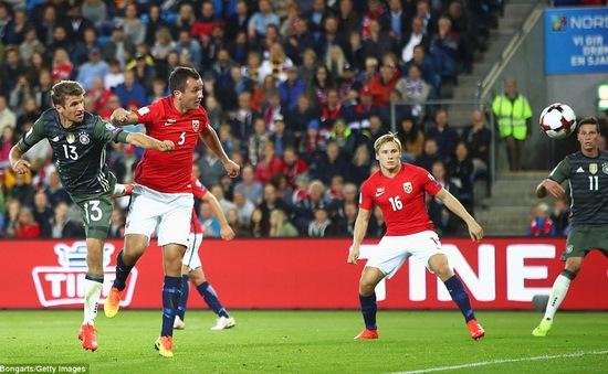 VIDEO, Na Uy 0-3 Đức: Muller lấy lại cảm giác ghi bàn