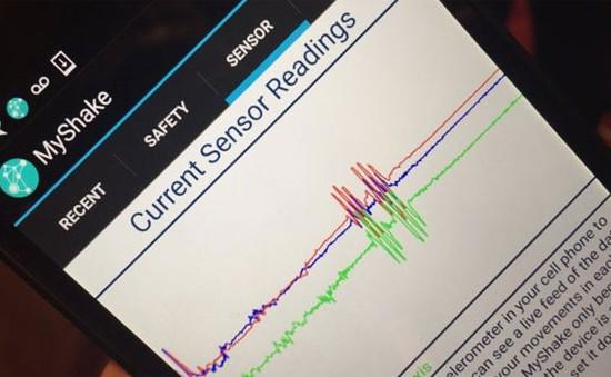 MyShake: Ứng dụng cảnh báo động đất nhanh chóng, chính xác