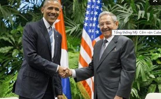 """Tổng thống Obama ca ngợi """"ngày mới"""" trong quan hệ Mỹ - Cuba"""