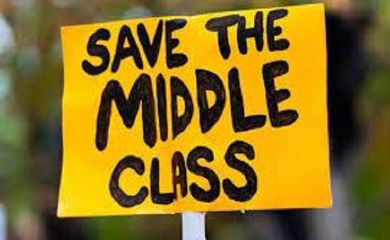 Tầng lớp trung lưu Mỹ đang giảm dần