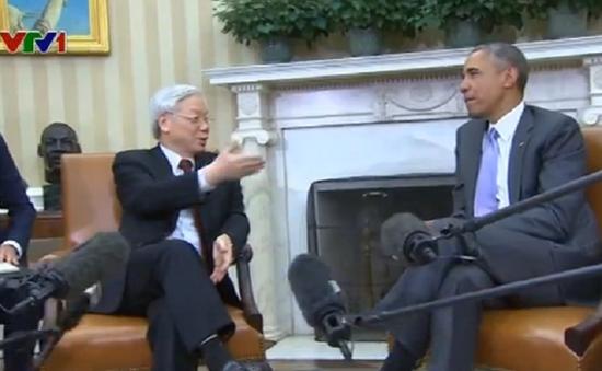 Việt Nam - Hoa Kỳ tăng cường niềm tin, thúc đẩy hợp tác