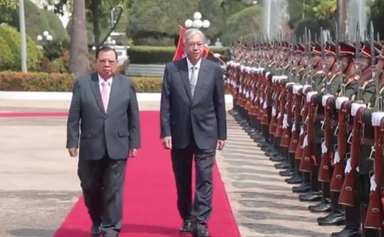 Tổng thống Myanmar có chuyến công du nước ngoài đầu tiên