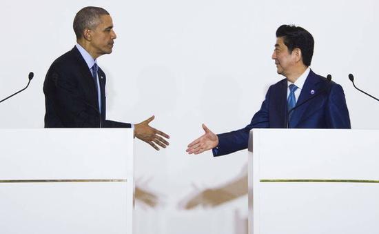 Thủ tướng Nhật Bản hội đàm song phương với nguyên thủ Mỹ, Anh