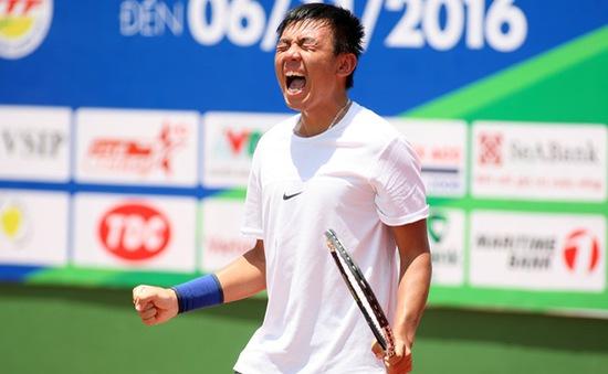 Lý Hoàng Nam thắng kịch tính ở vòng 1 giải Việt Nam F6 Futures