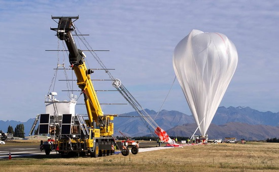 NASA phóng thành công khinh khí cầu tại New Zealand