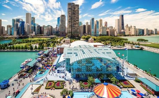 10 điểm đến tại Chicago, Mỹ có thể được khám phá bằng cáp treo