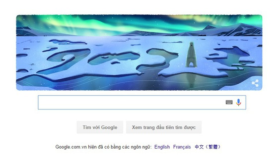 Google đổi hàng loạt doodle nhân Ngày Trái đất 2016