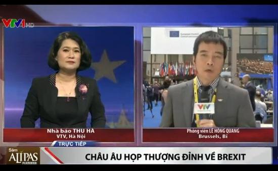 Liên minh châu Âu họp thượng đỉnh về quyết định ra đi của Anh