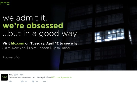 HTC 10 sẽ chính thức ra mắt ngày 12/4