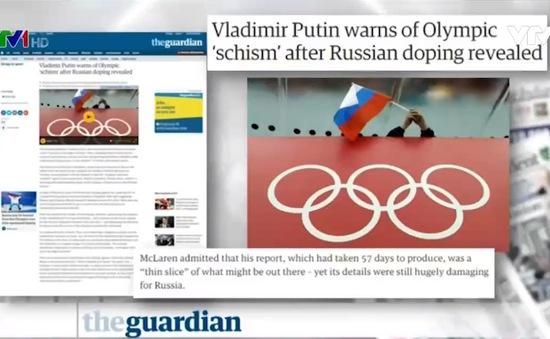 Nga có thể bị cấm tham gia Olympic 2016 - Tâm điểm báo chí quốc tế