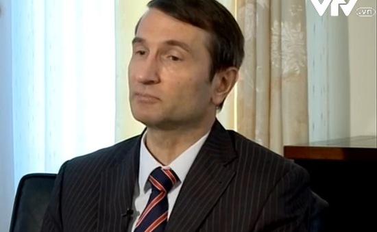 """""""Nga kêu gọi các bên liên quan đến tranh chấp ở biển Đông không sử dụng vũ lực"""""""
