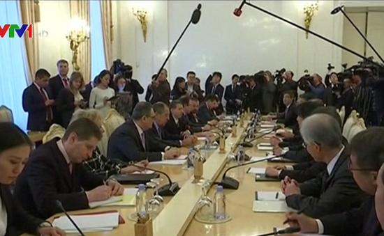 Nga và Nhật Bản thúc đẩy Hiệp ước Hòa bình