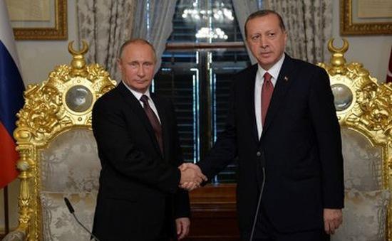 Nga và Thổ Nhĩ Kỳ ký thỏa thuận về đường ống khí đốt