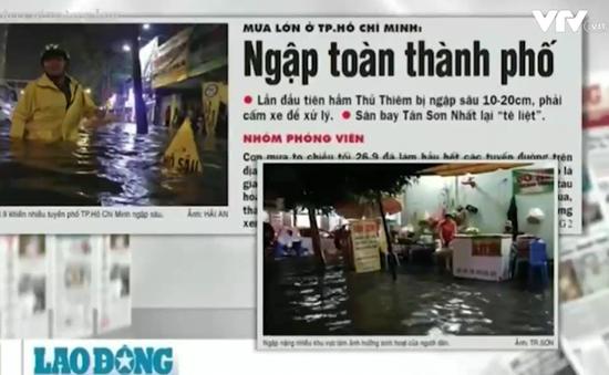 Nhìn lại trận lụt lịch sử tại TP.HCM: Vì sao càng chống lại càng ngập!