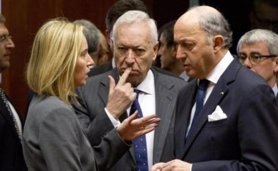 Ngoại trưởng EU họp bàn về quan hệ với Nga