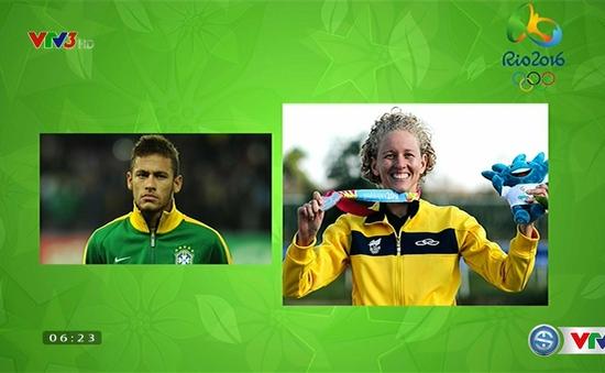 Những điều thú vị về các VĐV cầm cờ tại Olympic Rio 2016