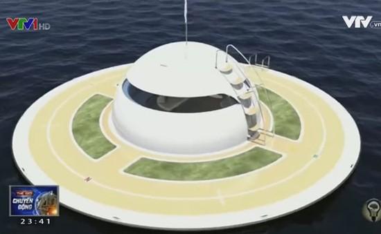 UFO - Dự án nhà nổi giữa biển của Italy