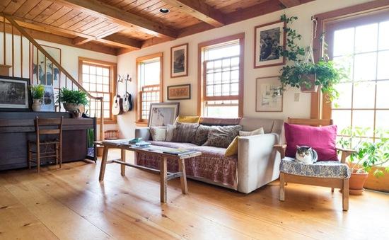 Mê mẩn căn nhà gỗ ấm áp và bình yên ở làng quê nước Mỹ