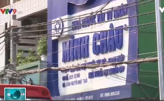 Một nhà thuốc Minh Châu đóng cửa sau khi bị xử phạt