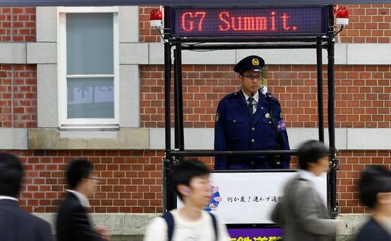 Nhật Bản siết chặt an ninh trước giờ khai mạc Hội nghị thượng đỉnh G7