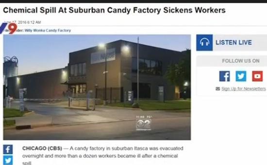 Mỹ: Nhà máy Nestle rò rỉ hóa chất khiến 11 người nhập viện