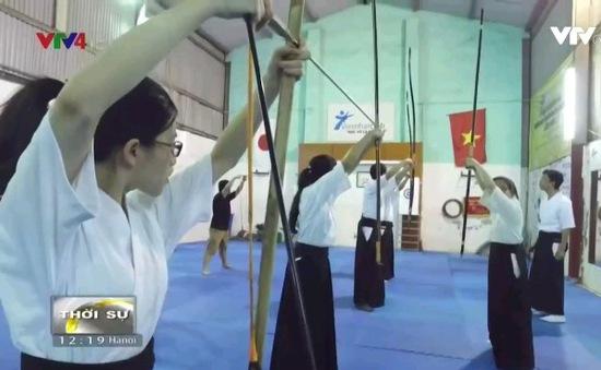 Bắn cung Nhật Bản thu hút giới trẻ Hà Nội