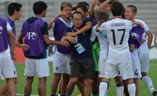 HLV U19 Nhật Bản đánh giá cao lối chơi của U19 Việt Nam