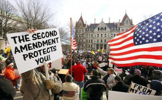 Biểu tình yêu cầu kiểm soát súng tại Mỹ