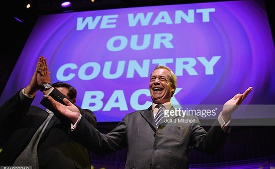 Nigel Farage - Vị chính khách dẫn đầu khuynh hướng Brexit