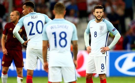 EURO 2016: Trụ cột dính chấn thương, tuyển Anh gặp khó trước vòng 1/8