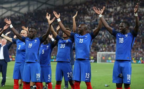 Vào chung kết EURO 2016, Pháp bắt chước màn ăn mừng hoành tráng của Iceland