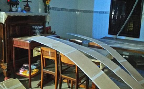Nổ lớn trên đảo Phú Quý, 5 người nhập viện