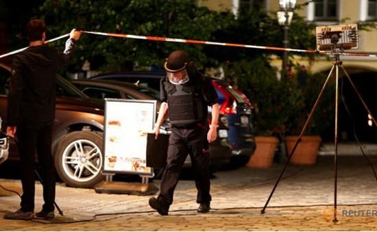 Có người điều khiển thủ phạm vụ nổ ở Ansbach (Đức)