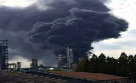 Nổ nhà máy lọc dầu tại Nam Kinh, Trung Quốc