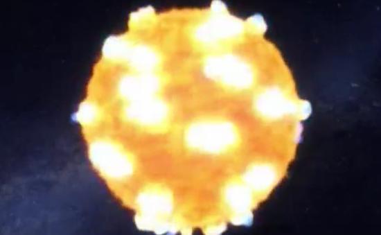 NASA lần đầu ghi lại hình ảnh nổ sóng xung kích trong không gian